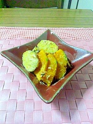 ヨウサマの『タニタ式』カボチャXさつまいもサラダ