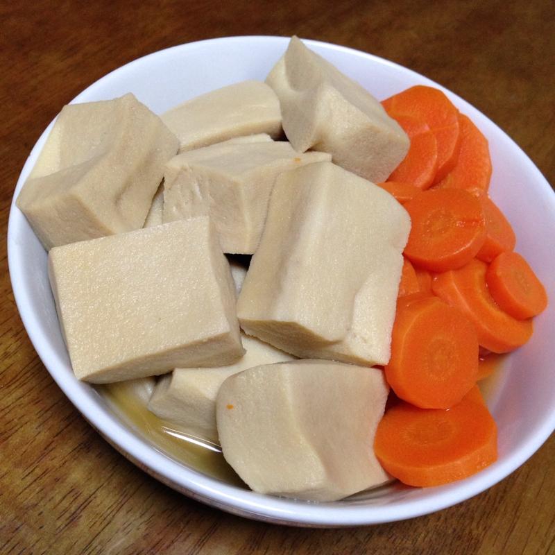 簡単☆高野豆腐の煮付け♪