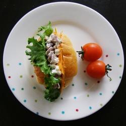 フジッリのキラキラ美肌サンド