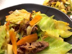 ほんのり♪カレー風味de洋風野菜炒め
