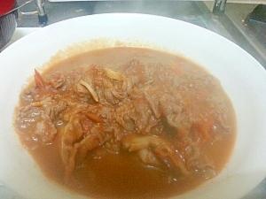【肉料理】牛肉のトマト煮込み