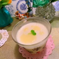 ぷるぷるカルピス豆乳プリン