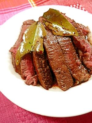 牛ヒレ肉のローリエ赤ワイングリル