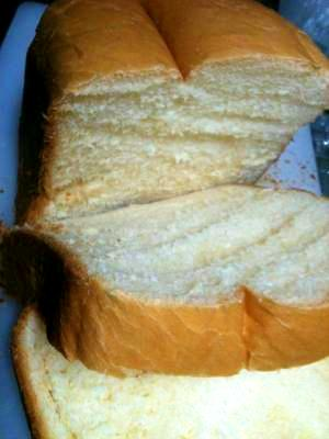 HBで作るちょっぴり甘いスイーツ食パン