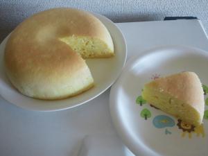 炊飯器におまかせ*簡単さつまいもケーキ