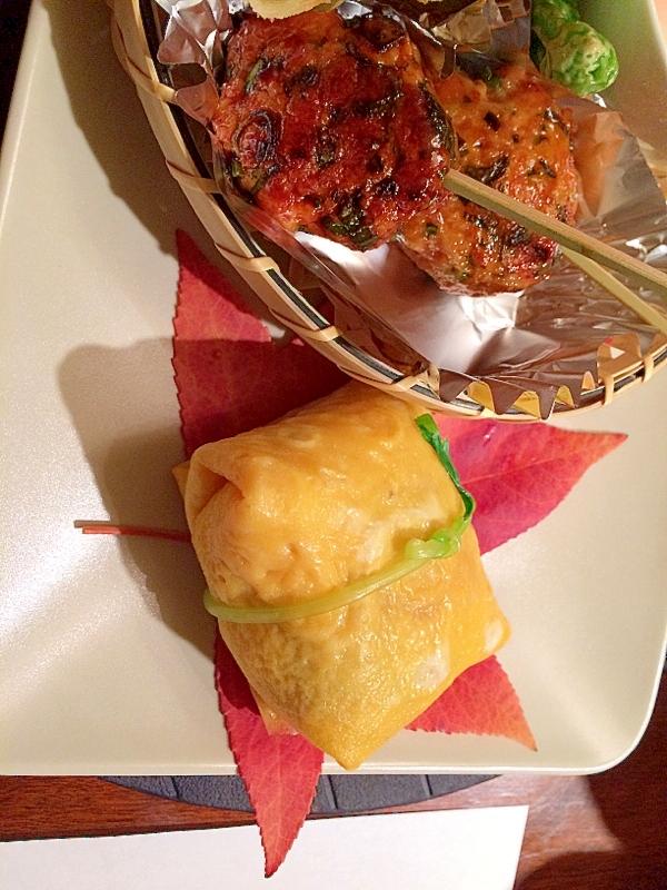 簡単!!おもてなしに鯛寿司で茶巾寿司