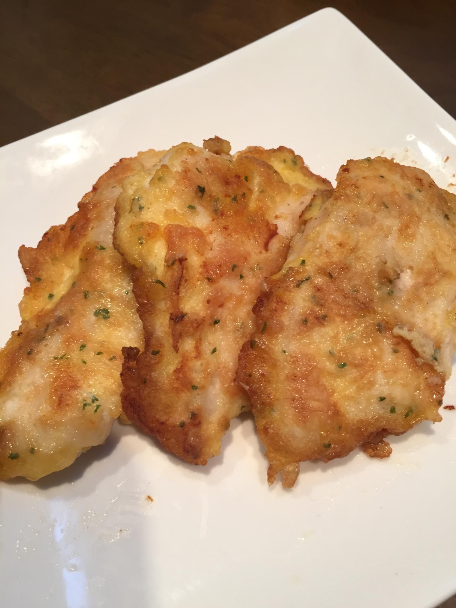 鶏胸肉でも柔らかい☆子供も大好きチーズピカタ レシピ・作り方