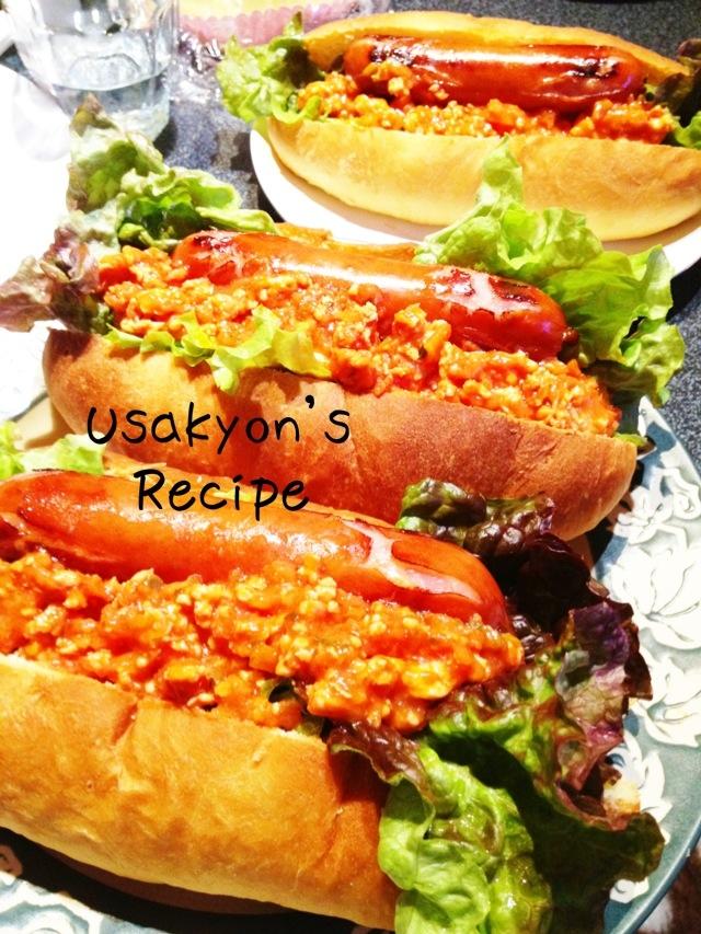 一つで満腹★アメリカンサイズのホットドッグ