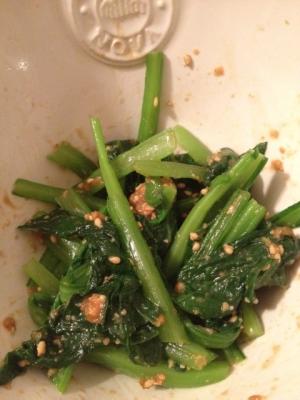簡単小松菜の和え物*お弁当サイズ