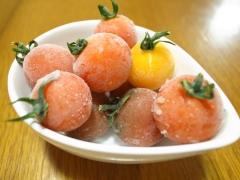 トマトの実シャーベット♪