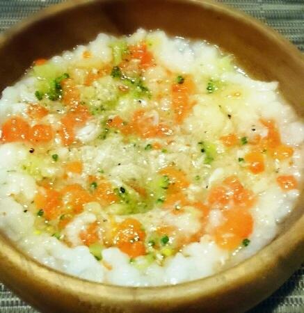 【離乳食中期】しらすの雑炊 レシピ・作り方
