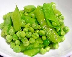 野菜レシピ☆グリンピースのソテー