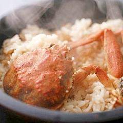 セコ飯☆カニの炊き込みご飯in香住