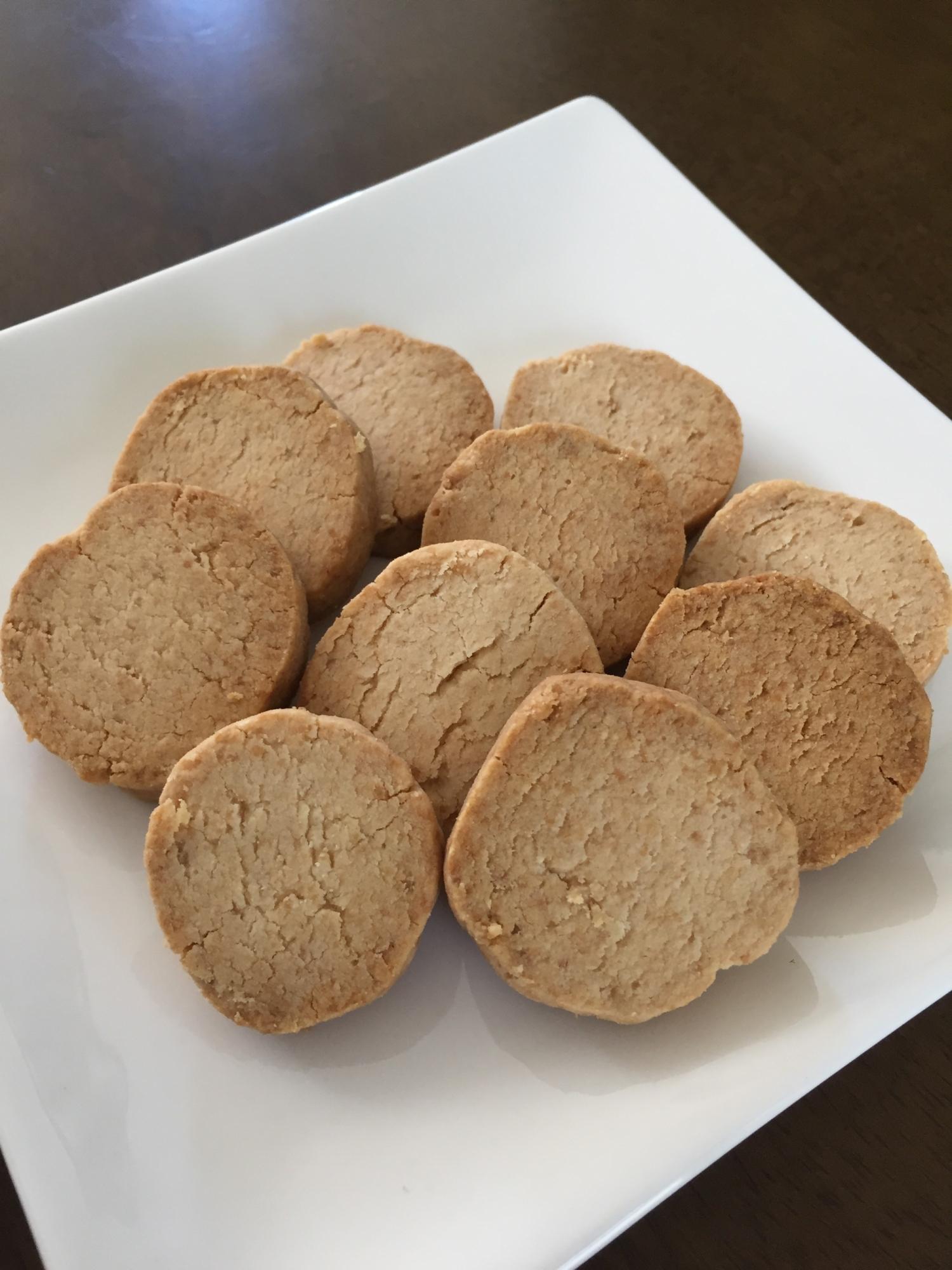 2. グルテンフリー ザクザクココナッツオイルクッキー