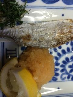 太刀魚の塩焼き(´Д` )