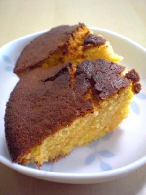 HMでしっとり☆人参メープルケーキ