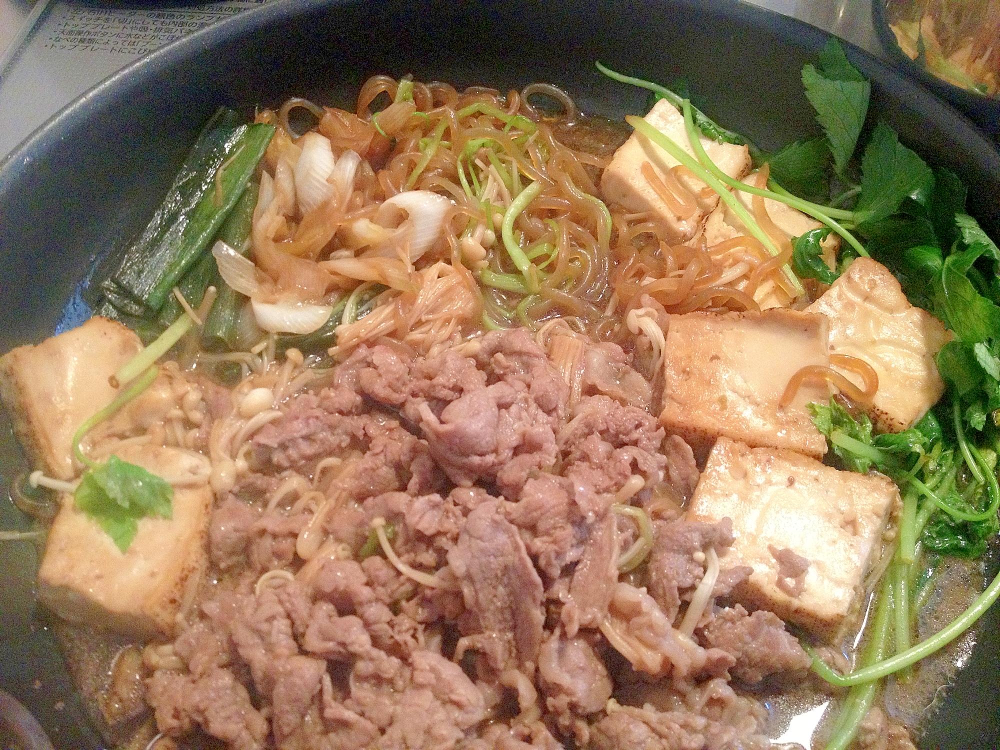 和食の基本☆フライパンでじんわり味すきやき*弁当も