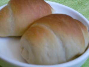 中力粉で我が家のロールパン