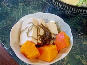 電子レンジで☆高野豆腐の含め煮