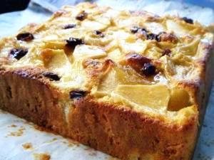 ふんわり★りんごと蜂蜜のケーキ