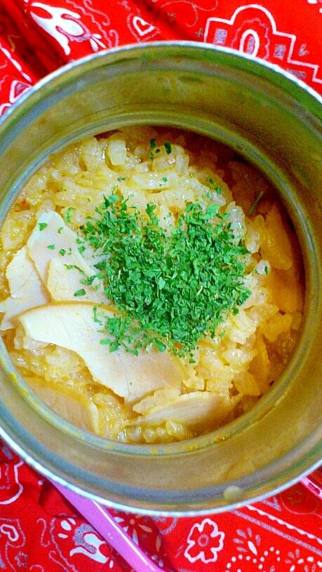スープジャーランチ☆赤からリゾット