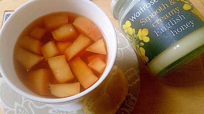 風邪にオレンジりんごスパイス&レモンルイボスティー