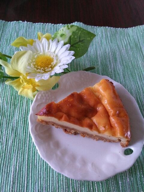 安くて簡単ヘルシーヨーグルトチーズケーキ