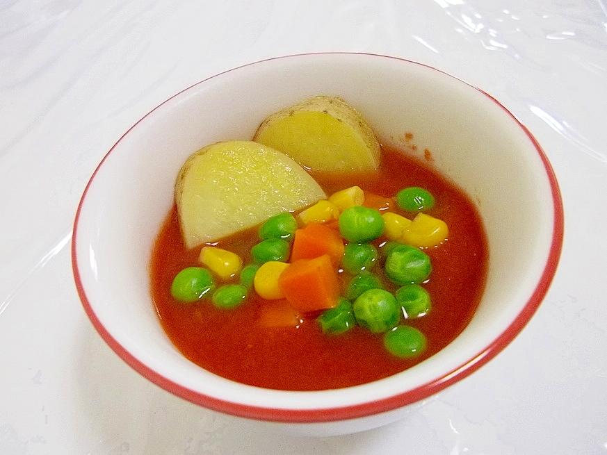 夏バテ対策!!簡単*冷製トマトスープ*