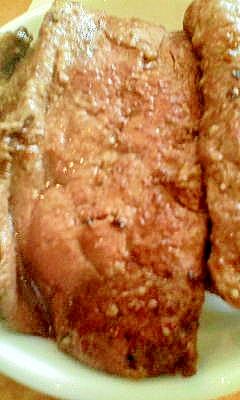 シンプル豚レバー塩コショウ焼き