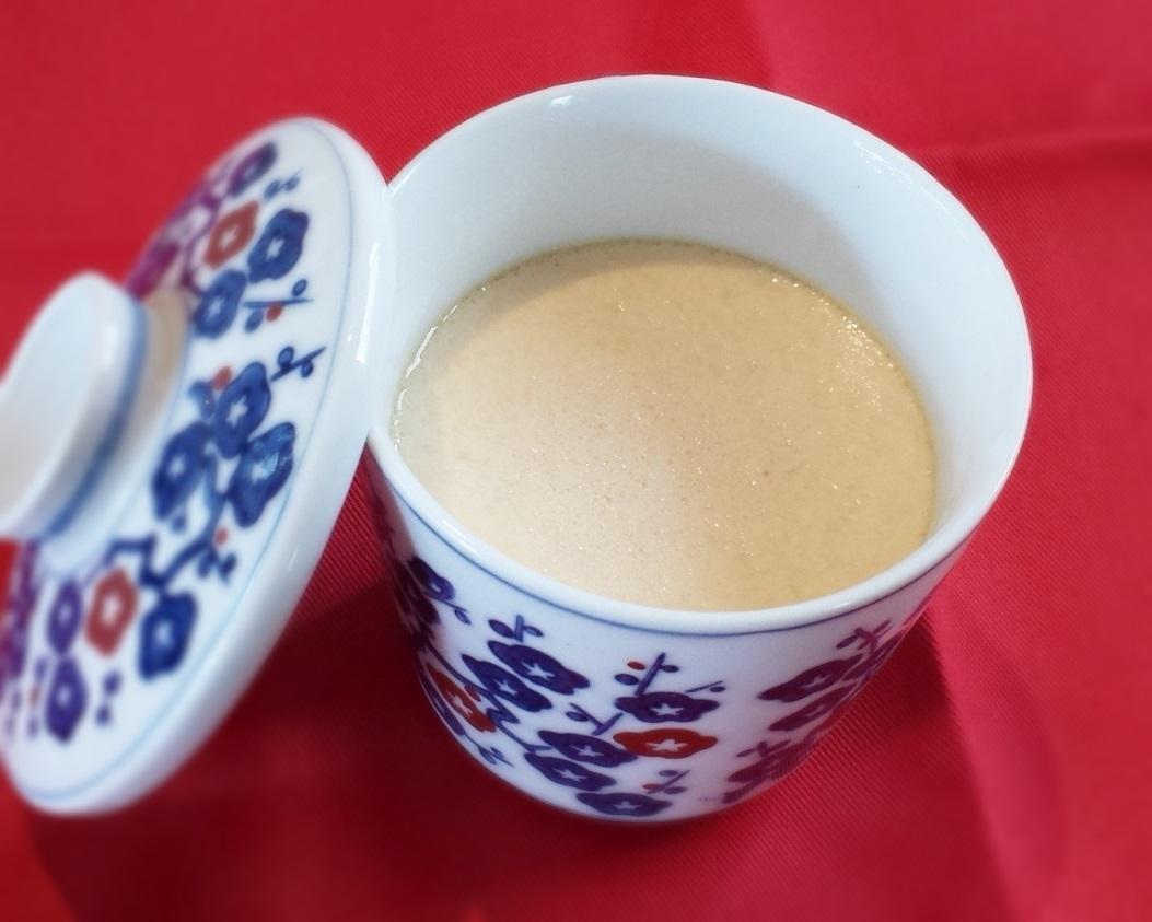 ボラの白子茶碗蒸し