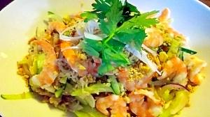 野菜たっぷり☆エスニック春雨サラダ
