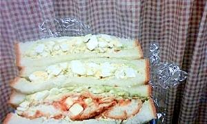 高たんぱく低カロリー!ヘルシーたまごサンドイッチ