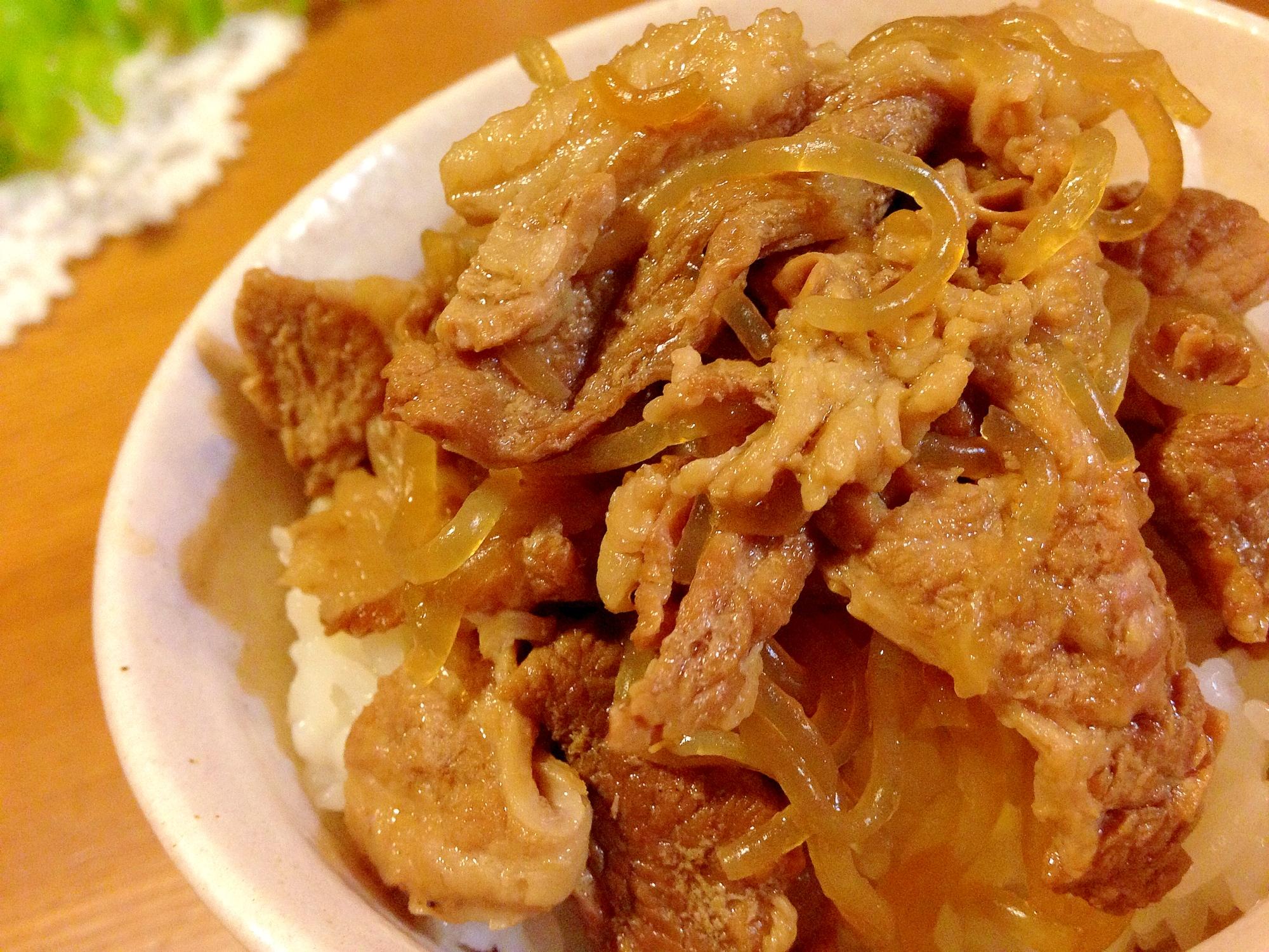 ジューシー豚丼