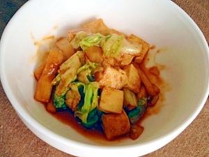 エリンギと豆腐のコチュ炒め