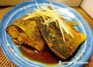 韓国風魚の煮つけ