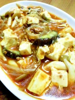 野菜たっぷり麻婆豆腐
