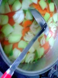 どんな鍋にも合うと評判のスープです