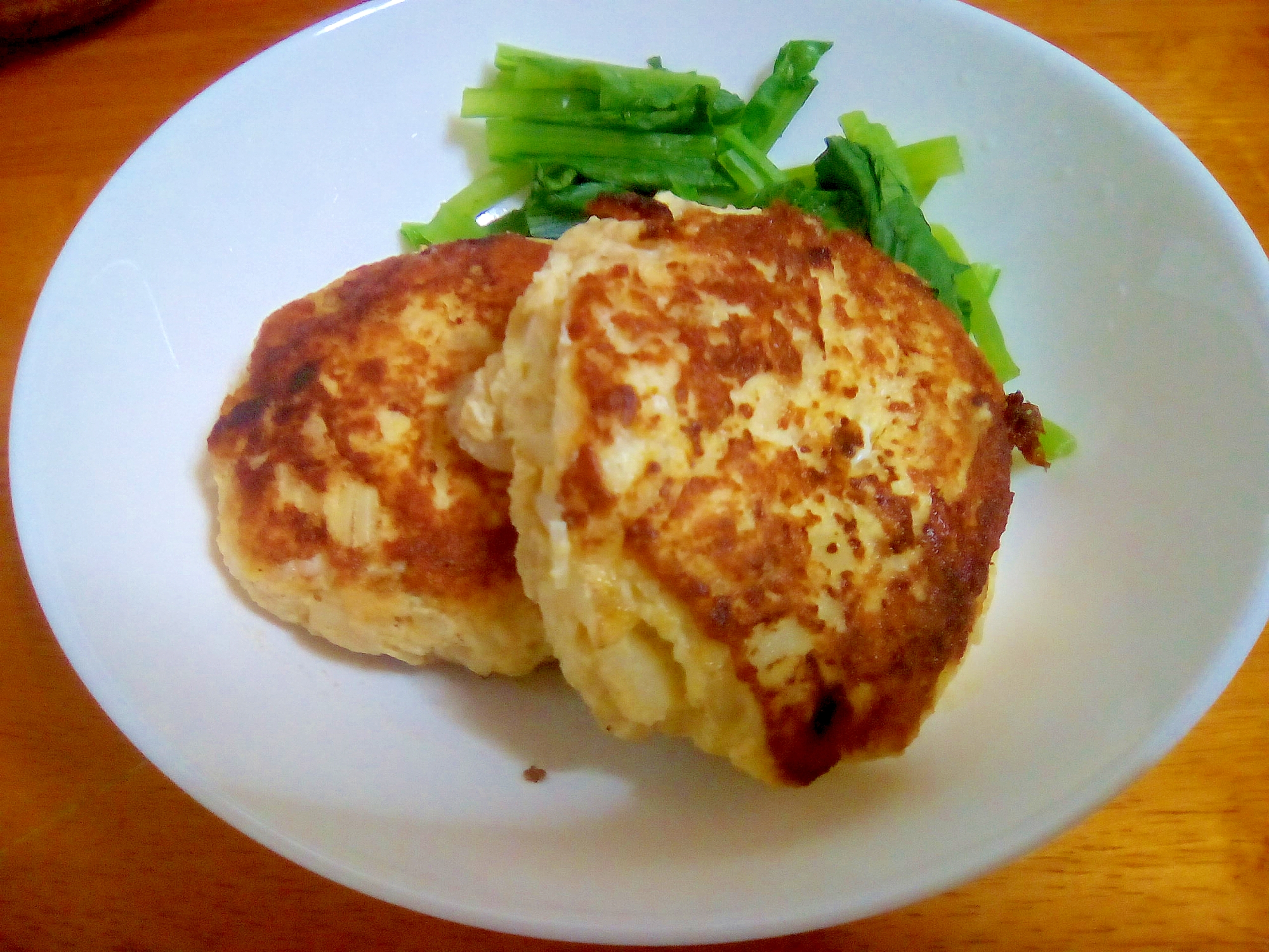 鶏ひき肉とおからのハンバーグ