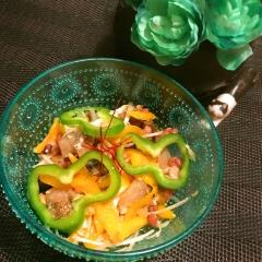 燻製さわらと雑穀のぷちぴちシャキしゃくサラダ