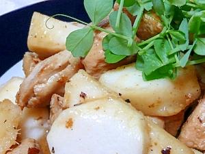 鶏と山芋のこっくり煮