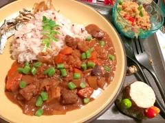 皮&芯が旨味!根菜ごろごろ八丁味噌どて煮風カレー
