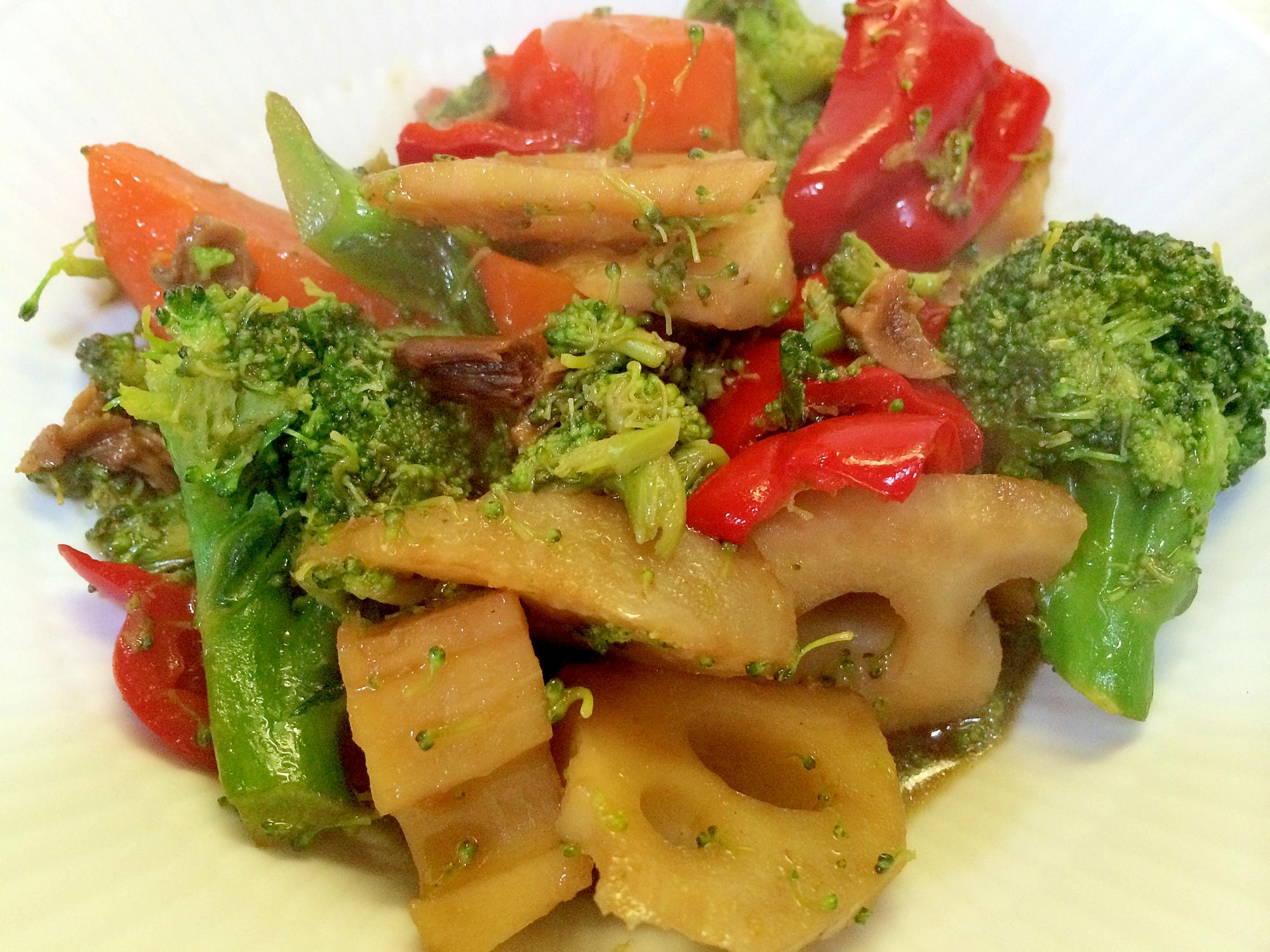 ポルチーニ茸で温野菜