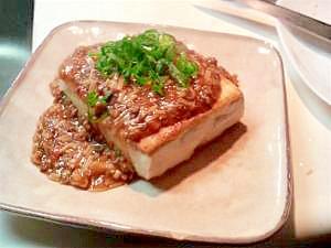 豆腐ステーキ☆あっさり肉味噌あんかけ レシピ・作り方 by ねこまめたぬき 楽天レシピ