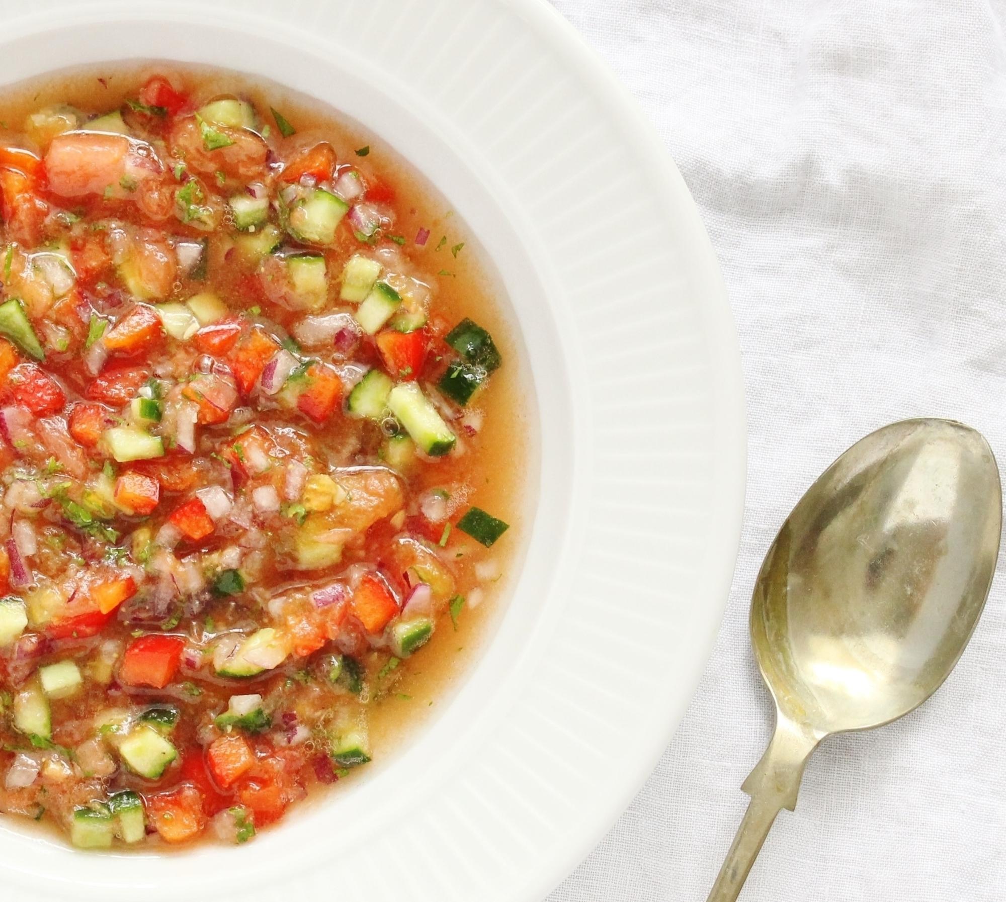 スペイン発の冷製スープ!「ガスパチョ」の基本レシピ&アレンジ15選