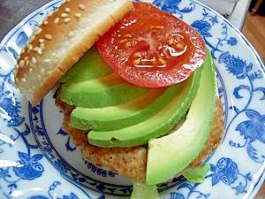 ヘルシーポークハンバーガー(カレー風味)