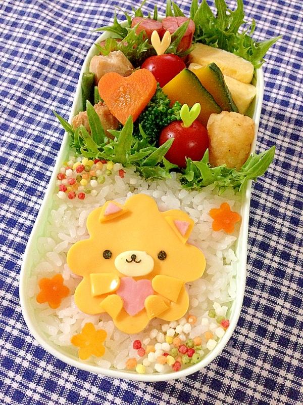 簡単キャラ弁☆ホメコロのお弁当♪