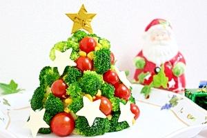 クリスマスツリーのポテトサラダ レシピ・作り方