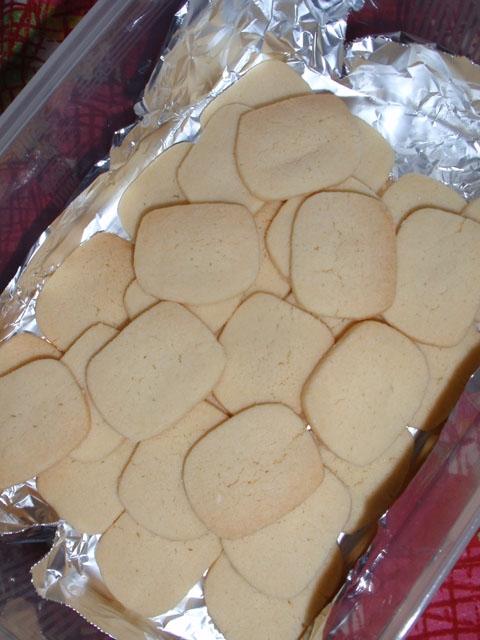1. ホットケーキミックスでバタークッキー