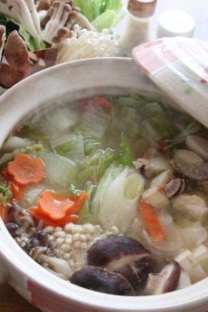 4. ぶりの中華風塩麹鍋