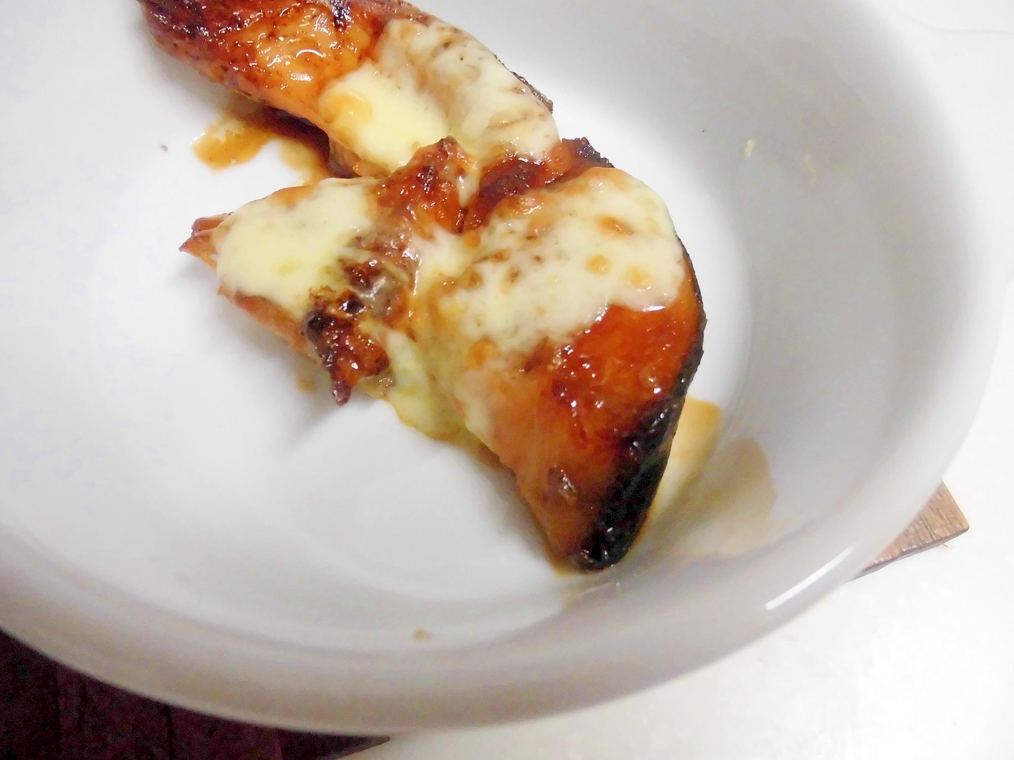 鮭のお好みチーズ焼き
